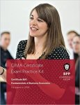 Cima BA1 Fundamentals Of Business Economics - Bpp Learning Media Paperback