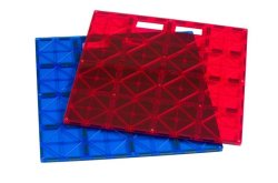 Playmags Super Durable Giant Building Stabilizer Tile 12X12 With Carrying Handle