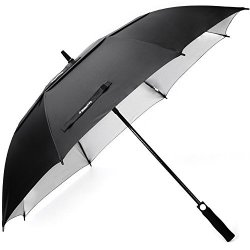 7d47748562b5 ZEKAR 54 Inch Windproof Large Golf Umbrella Double Canopy Sun And Rain  Umbrellas Uv Protection Version 54