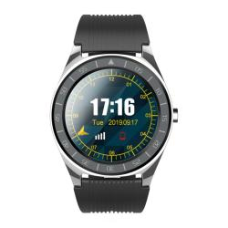 Xanes V5 1.54IN Full Touch Screen Support Sim Card Bt Call Smart Watch Phone Sleep Monitor Multiple Sports Modes Fitness Bracelet - Grey