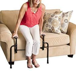 Stander Ez Stand-n-go - Ergonomic Stand Assist Handles + Adjustable Standing Mobilty Aid For Couch Chair & Sofa & Living Room Gr