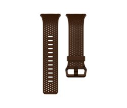Fitbit Ionic - Leather Band - Cognac - Large