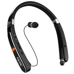 Deals On Grde Bluetooth Headset Bluetooth Headphones Wireless Stereo Neckband Foldable Sport Earbuds With Mic Retractable Bluetooth Earphones Compatible For X Compare Prices Shop Online Pricecheck