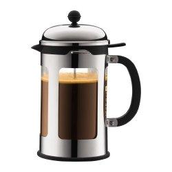 Bodum 11173-16 12 Cup Chambord French Press Coffee Maker 51 Oz Chrome