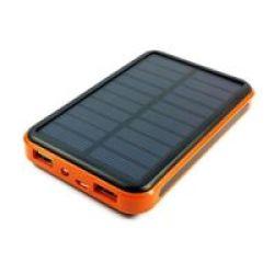 Tuff-Luv 10000mAh Solar Power Bank & Charger