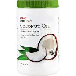 GNC Superfoods Organic Extra Virgin Coconut Oil 858ml