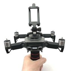Dartphew Quadcopter Kit 1PCS Handheld Gimbal Holder Stabilizers Fixed Mount Camera Bracket With Sponge Handle For Dji Mavic Air Drone Quadcopter For Smartphones Of 50-85MM