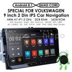 Android 8.1 Car Stereo Radio Applicable To Volkswagen seat skoda 9 Inch With Bluetooth Split Screen And Pip Multitasking