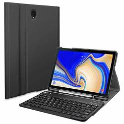 Fintie Keyboard Case For Samsung Galaxy Tab S4 10.5 2018 Model SM-T830 T835 T837 Slim Shell Lightweight Stand Cover With Detacha