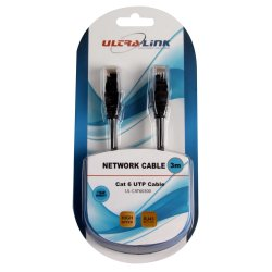 ULTRALINK - CAT6E Network Cable 3M High Speed