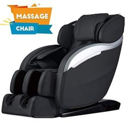Massage Chair Zero Gravity Full Body Electric Shiatsu Massage Chair Recliner With Built-in Heat Therapy Foot Roller Air Massage