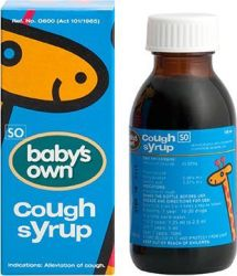 Johnson & Johnson's Babys Own Cough Syrup 100ML