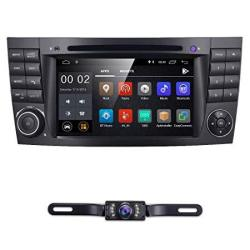 7 Inch Android 8.1 Car Stereo Radio DVD Player Gps Can-bus Mirrorlink Bluetooth OBD2 Multi Touch Screen For Benz E-class W211 Cl