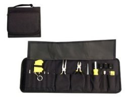 Cubby 26PC Hole Multi Tool Set In Back Nylon Fold Up Pouch