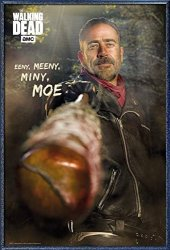 """POSTER STOP ONLINE The Walking Dead - Framed Tv Show Poster Print Negan Size: 24"""" X 36"""" By"""