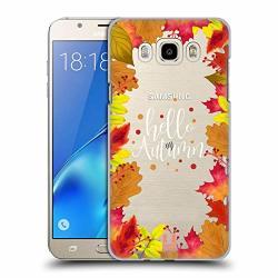 Head Case Designs Hello Autumn Illustration Hard Back Case For Samsung Galaxy J7 2016