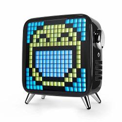 Portable Usfenghezhan Bluetooth Speaker Tivoo Max S Bluetooth LED Speaker With App-controlled Pixel Art Animation Ultimate Audio