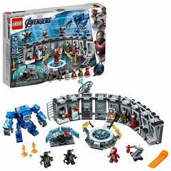 Lego Marvel Avengers Iron Man Hall Of Armor 76125 Building Kit 524 Piece