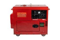 EMBASSY Ghc 6500 3 Phase Silent Diesel Generator