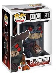 Funko Pop Games: Doom - Cyberdemon Action Figure 6