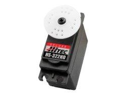 Hitec 33322S HS-322HD Standard Deluxe Karbonite Gear Servo