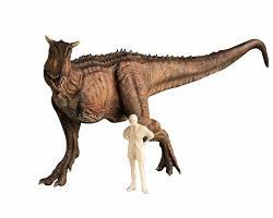 Nanmu Studio 1 35 Scale Carnotaurus Figure Carno Statue Realistic Bereserker Dinosaur Action Figure Pvc Model Toys Dinosauri Collector Decor Gift For Adult Red