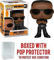 USA Pop Movies: Bad Boys Mike Lowrey 871 Pop Vinyl Figure Includes Ecotek Pop Box Protector Case