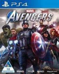 Playstation 4 Game Marvel Avengers Standard Edition Retail Box No Warranty On Software