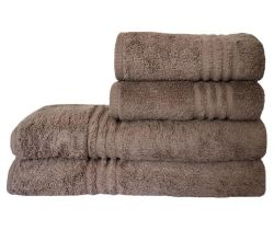 Dreyer Snag Free 485GSM Pebble Bath & Hand Towel Set - Pack Of 4