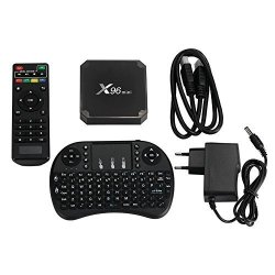 Cewaal Tv Box X96 MINI Android 7 1 Amlogic S905W 1GB+8GB Quad Core Wifi HD  4KX2K Smart Tv Box Media Player With I8 Keyboard   R   Electronics  