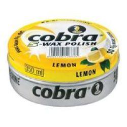 Cobra Polish Lemon Polish 350ML