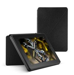 Leather Standing Case For Fire HD 7 4TH Generation Black