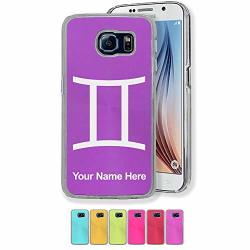 Case Compatible With Galaxy S7 Zodiac Sign Gemini Personalized Engraving Included