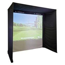 Easysimpro Kit-form Golf Simulator Enclosure 3.5 X 2.5 X 1.3 No Poles