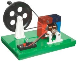 """American Educational Ac And Dc Generator 13"""" Length X 9"""" Width X 5-1 2"""" Height"""