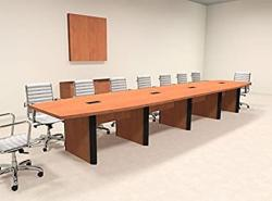 Modern Boat Shaped 18' Feet Conference Table OF-CON-CP21