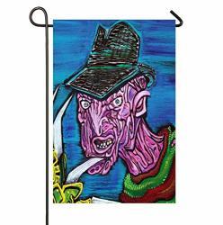 Anleygardeflagsu Freddy Krueger Seasonal Garden Flags Artistically Designed Yard Flags
