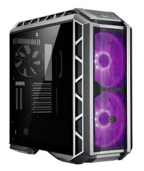 Cooler Master - Mastercase H500P Atx Desktop Chassis Gunmetal Tempered Glass Window