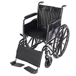 Lacura Leg Strap Wheelchair Accessory To Support Lower Legs & Prevent Feet From Falling Off Foot Rests Wheelchair Leg Pad Provid
