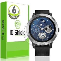 Garmin Vivoactive 3 Screen Protector 6-PACK Iq Shield Liquidskin F