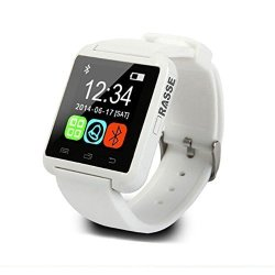 Rasse Bluetooth 3.0 Smart Wrist Watch For Android Samsung Phone