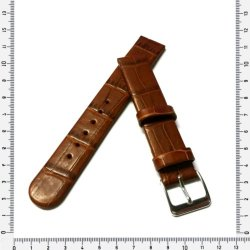 16MM Watch Strap Genuine Leather Brown Made In Germany