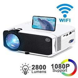 Wifi MINI Projector 2800LUX Ifmeyasi Wireless Video Projector Full HD 1080P Portable Movie Projector For Home Outdoors USB Direc