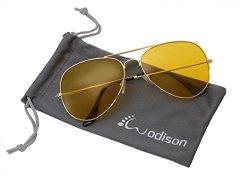JF Store Wodison Vintage Reflective Mirror Lens Metal Frame Aviator Sunglasses Silver Frame Green Mix Blue Lens