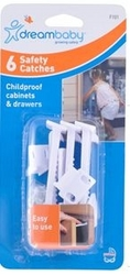 Dreambaby - Safety Catches - 6 Pack