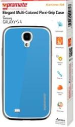 Promate KARIZMO-S4 Elegant Flexi-grip Case For Samsung Galaxy S4-BLUE Retail Box 1 Year Warranty Product Overviewfun And Fully Protective Flexible Case For Samsung Galaxy