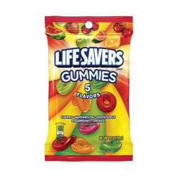 Mars Lifesavers Gummies 5 Flavour Peg Bag 198G