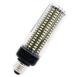 Rowrun 20W LED Corn Light Bulb E26 E27 LED Light Bulb 200 Watts Equivalent Daylight White 6000K 189PCS 5037SMD 110V 1600LM For Indoor outdoor Floodlight By