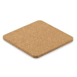 Square Cork Shaped Coaster