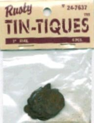 "Rusty Tin-tiques 24-7637 - 1"" Snail - 6 Pieces pkg - Six Packages Total 36"